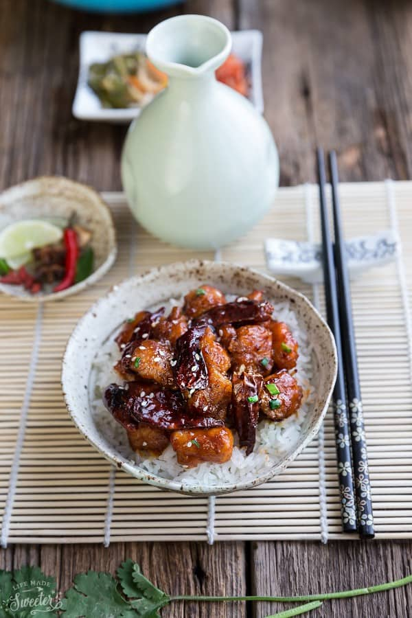 Healthier General Tso's Chicken makes the perfect weeknight meal. Best of all, it's so easy to make and way better than takeout!