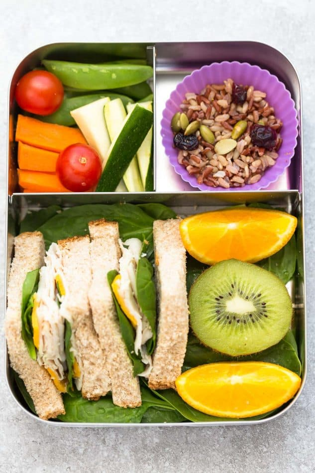 7 Healthy School lunches