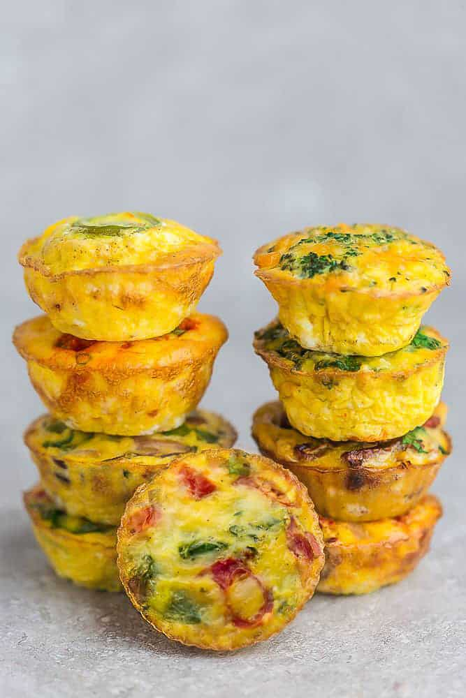 Healthy Egg Muffins Recipe Quick Healthy Breakfast Idea