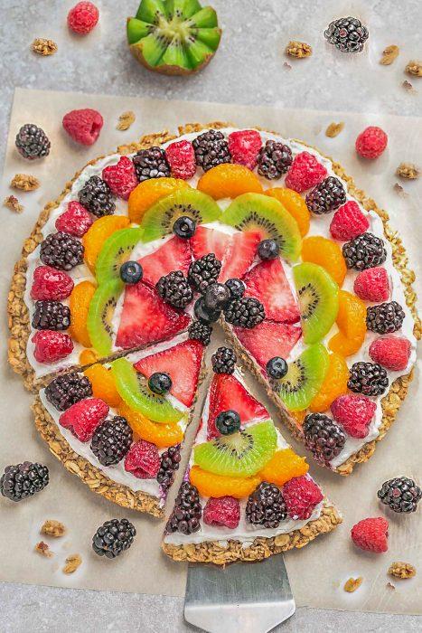 Healthy Fruit Pizza – 2 Ways!