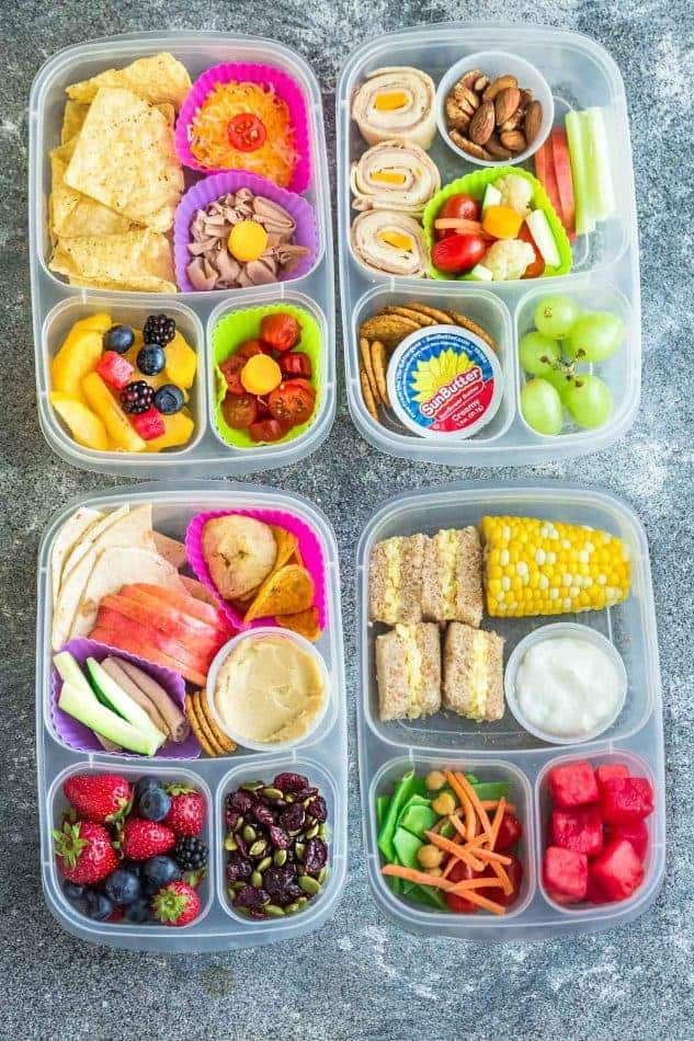 Elegant 8 Healthy And Delicous Lunches For Back To School. Tons Of Ideas With  Options For