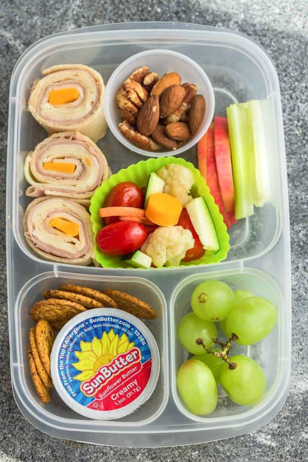 8 healthy and easy school lunches healthy kid friendly 8 healthy and delicous lunches for back to school tons of ideas with options for forumfinder Image collections