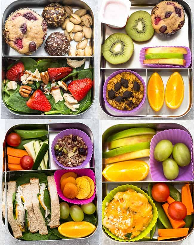 Easy School Lunch Ideas For