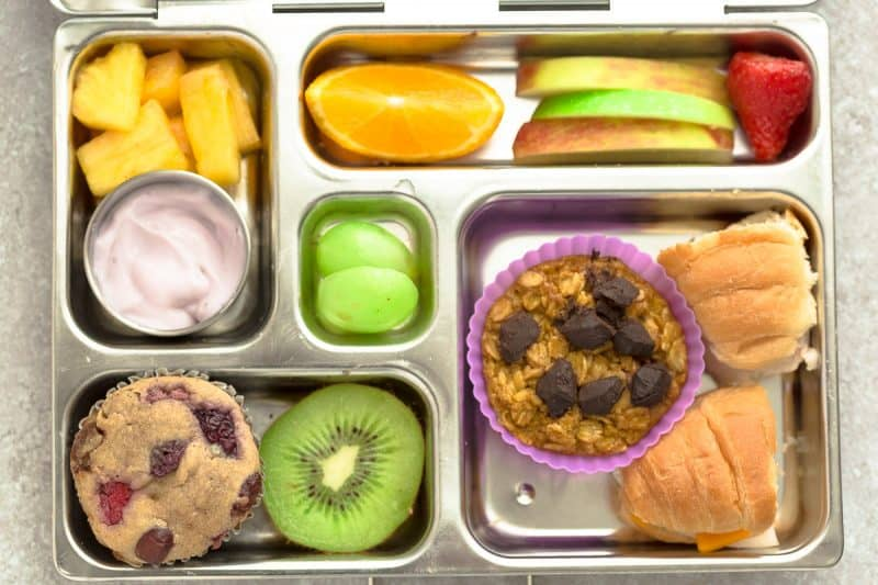 5 Easy, Healthy, Fun and Delicious Bento Box Style School Lunches for Fall and Autumn. With ideas for apples, pumpkins and sweet potato along with options for nut free, dairy free and gluten free choices in cute bentoboxes. There is something for even picky eaters who will want to finish their food with no leftovers. Perfect for adults too who are looking for recipes and ideas other than sandwiches to bring to work.