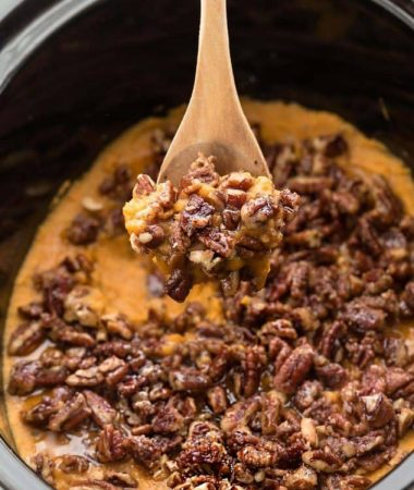 Slow Cooker Sweet Potato Casserole – Healthy, Paleo