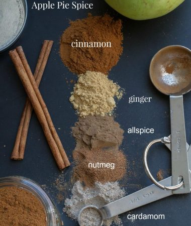 Homemade Custom Apple Pie Spice Blend - Save money and a trip to the store by making your own DIY blend to make plenty of pies all season long!