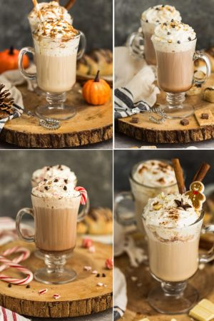 Homemade Lattes – 4 Ways + VIDEO