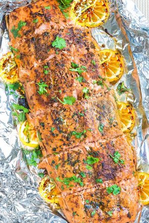 Honey Lemon Salmon + VIDEO
