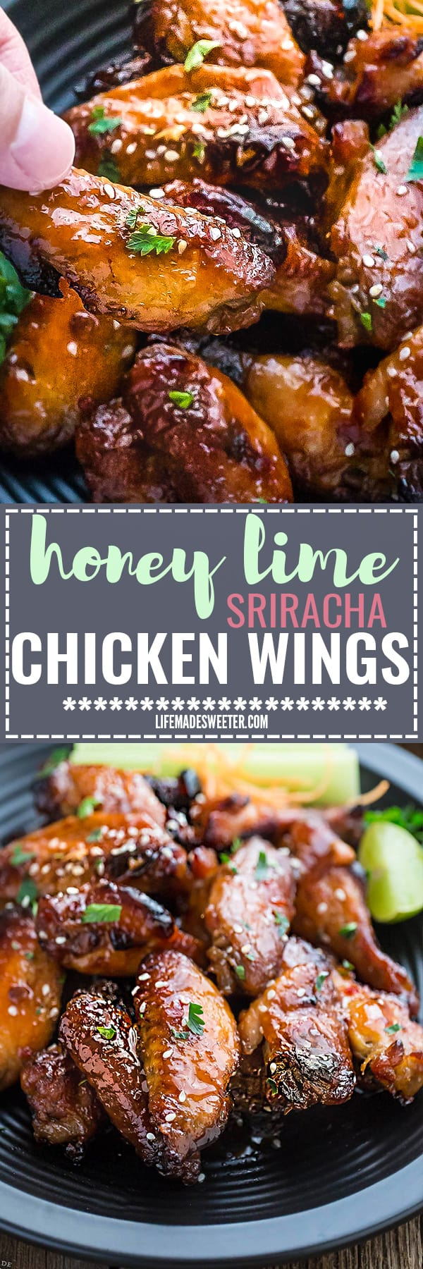 how to make honey chicken wings in the oven