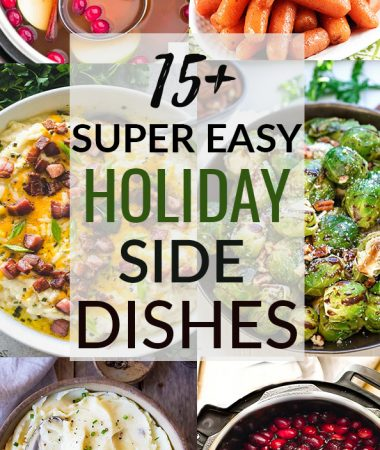 Instant Pot Side Dishes for the Holidays