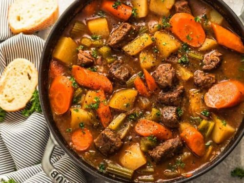 Instant Pot Beef Stew A Healthy And Hearty Slow Cooker Stew Recipe