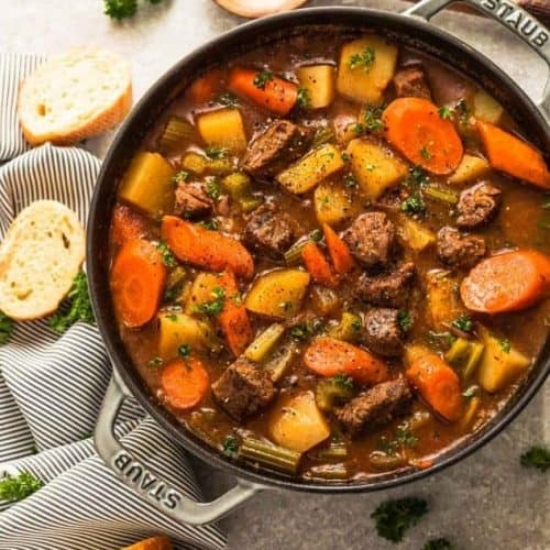 Best Classic Homemade Beef Stew Easy Beef Stew Recipe Video