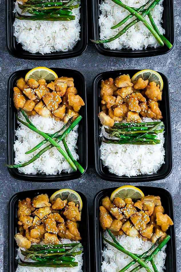 Instant Pot Chinese Lemon Chicken - an easy homemade pressure cooker recipe of the classic Asian Takeout-Style Lemon Chicken. This healthier low carb / keto version of the popular favorite has a light and crispy coating covered in a flavorful sweet, savory and tangy lemon sauce.