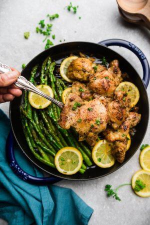 Instant Pot Lemon Chicken with Garlic