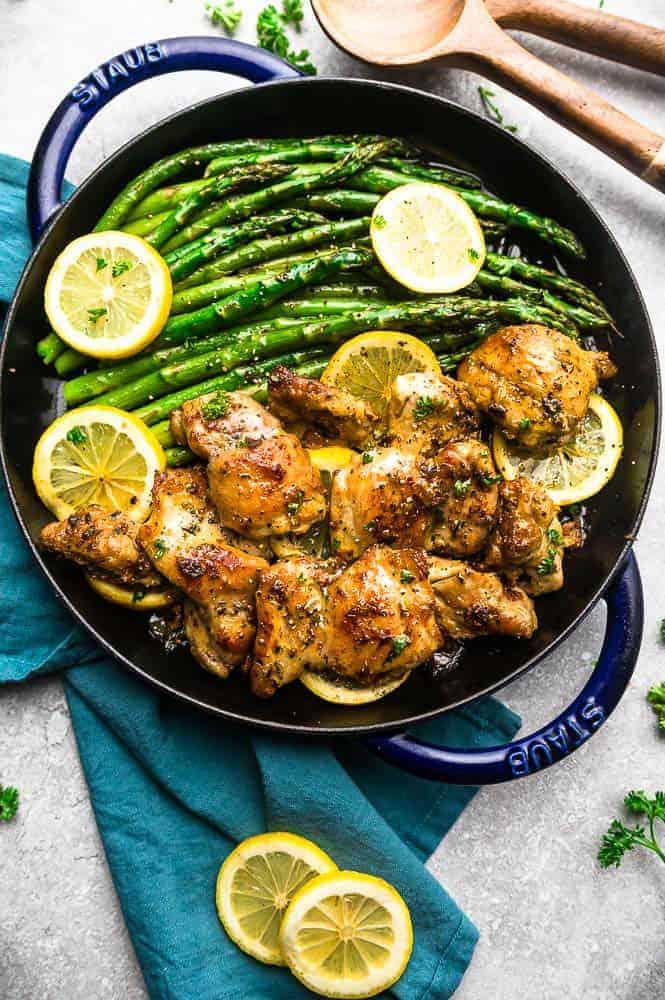 Instant pot lemon garlic chicken 1