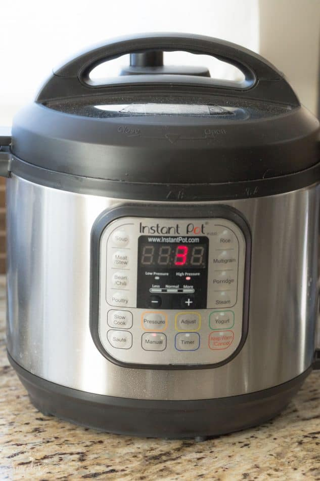 Instant Pot Steel Cut Oatmeal – an easy recipe for light and fluffy steel cut oats cooked in an electric pressure cooker. Best of all, it's gluten free, vegan and you can customize it with your favorite fruit or berries! No more stirring and only 3 minutes of cooking time!