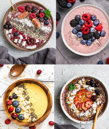 Keto Smoothie Bowls – Paleo / Whole30 / Low Carb