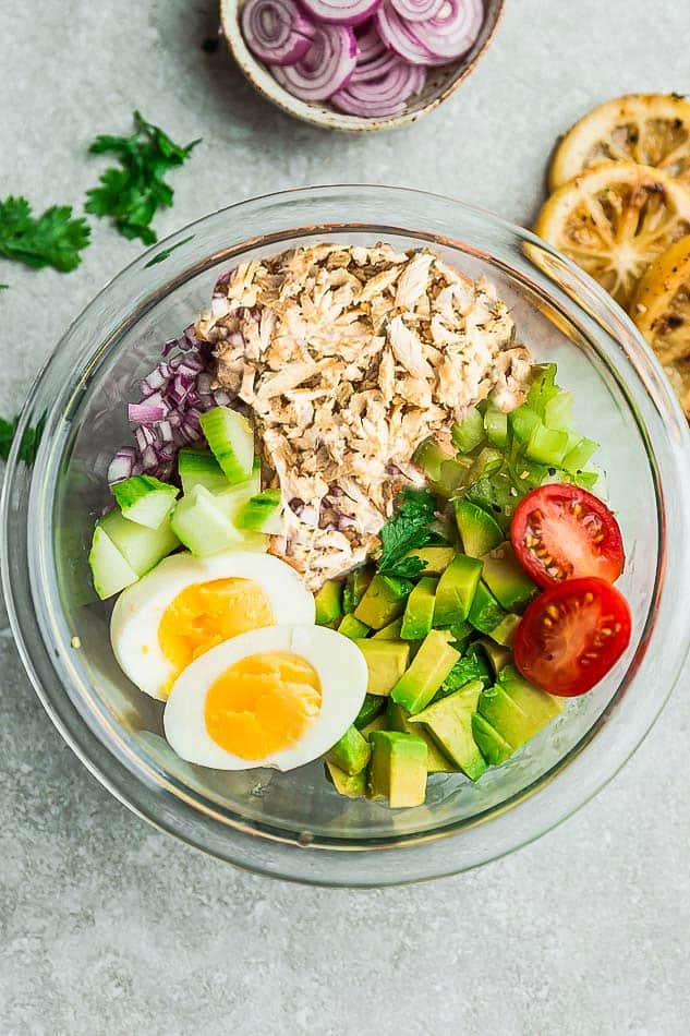 Avocado Salad Recipes Keto