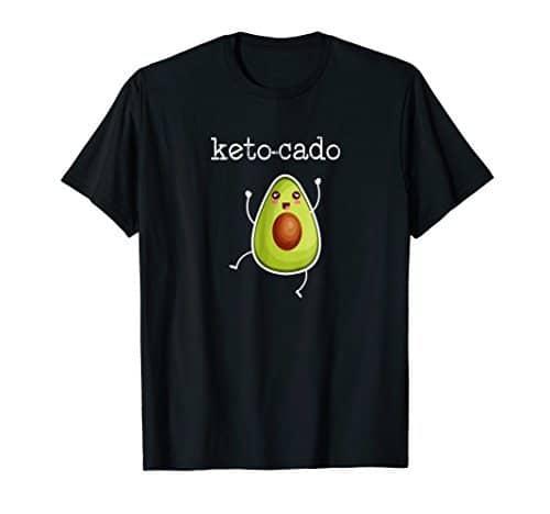 Black keto-cado t-shirt