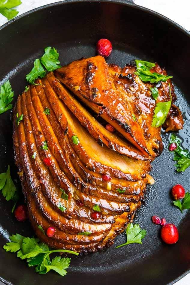 Honey Mustard Baked Ham | Easy Paleo Ham Recipe