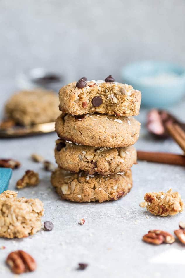 Keto Breakfast Cookies Soft Chewy Sugar Free Paleo Gluten Free