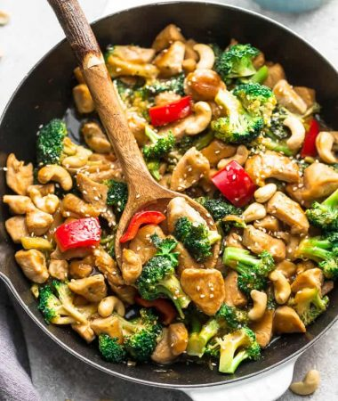 Keto Cashew Chicken – Paleo / Whole30 / Low Carb