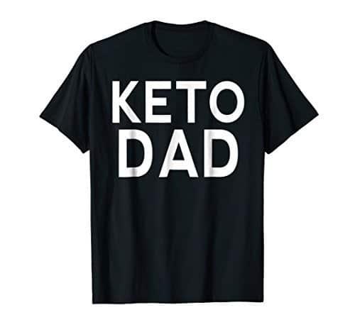 Black Keto Dad t-shirt