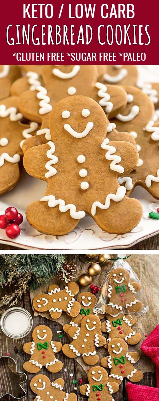 Keto Gingerbread Cookies Low Carb Paleo Best Gluten Free Recipe