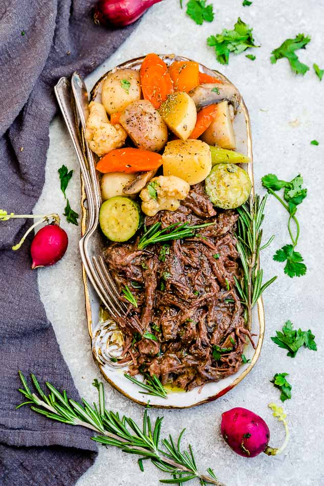 Keto Pot Roast Instant Pot Low Carb Paleo Whole30 Life Made Sweeter