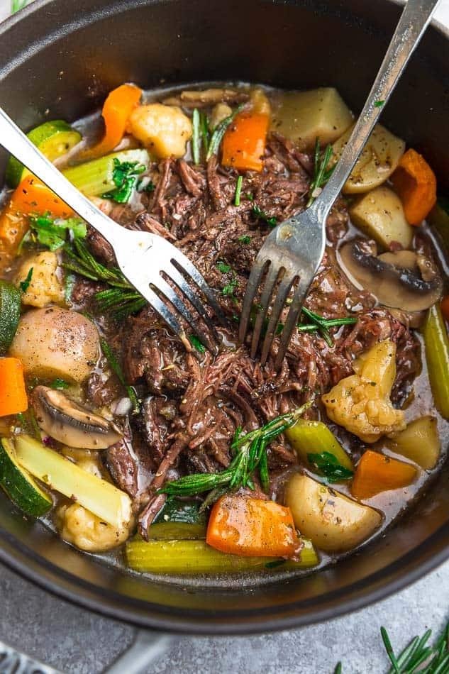 Keto Pot Roast Recipe