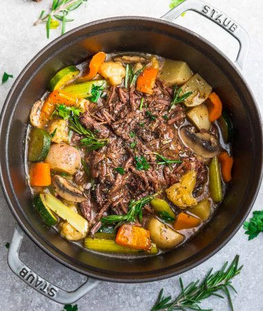 Keto Pot Roast – Instant Pot / Low Carb / Paleo / Whole30