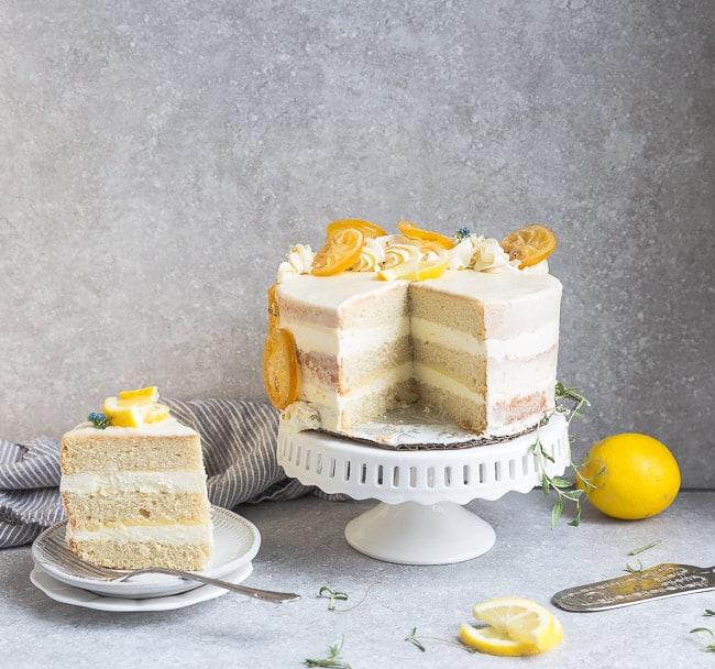 Remarkable Keto Lemon Cake Recipe Easy Low Carb Keto Dessert Idea Funny Birthday Cards Online Inifodamsfinfo