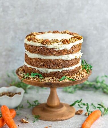 Low Carb Carrot Cake – Paleo / Keto / Grain Free