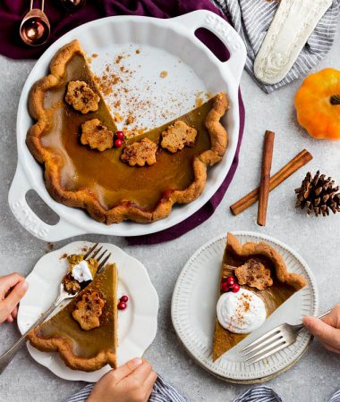 Keto Pumpkin Pie – Low Carb / Paleo / Sugar Free