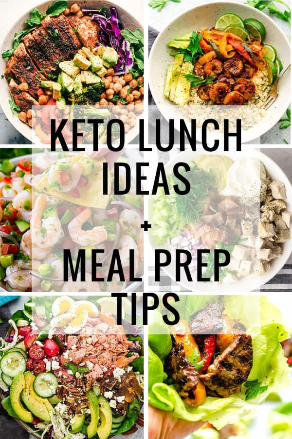 Keto Lunch Ideas + Meal Prepping Tips - Life Made Sweeter