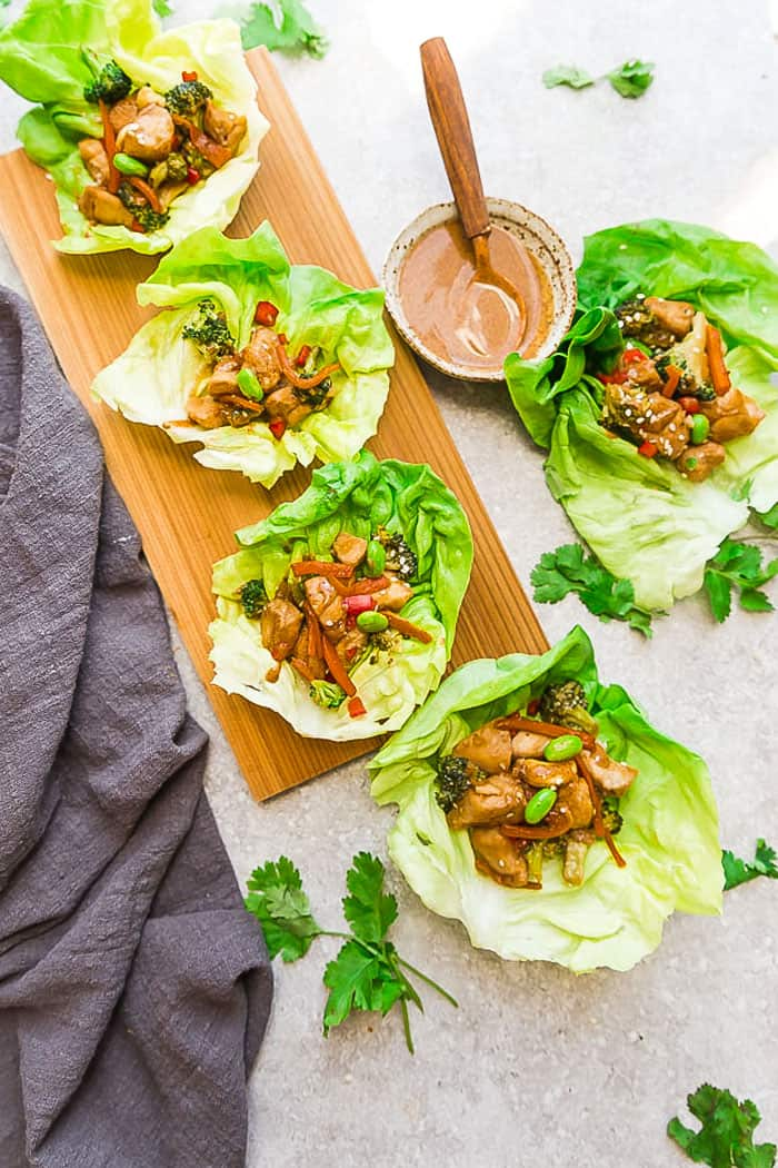 Keto Sesame Chicken Best 30 Min Low Carb Dinner Recipe