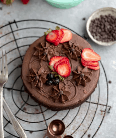 Keto chocolate cake - GWS Cover