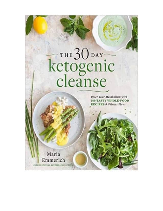 The 30 Day Ketogenic Cleanse cookbook cover