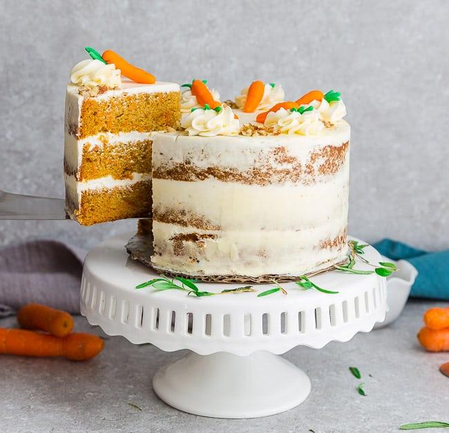 Keto Carrot Cake Recipe Easy Low Carb Paleo Dessert For Spring