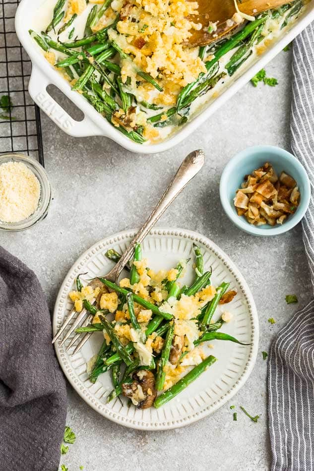 Low Carb Green Bean Casserole Keto Gluten Free Life