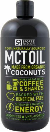 Black Bottle of MCT Oil