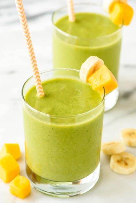 Mango-Green-Smoothie-Recipe
