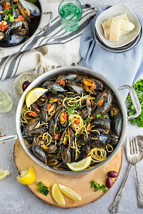 Steamed Mediterranean PEI Mussels