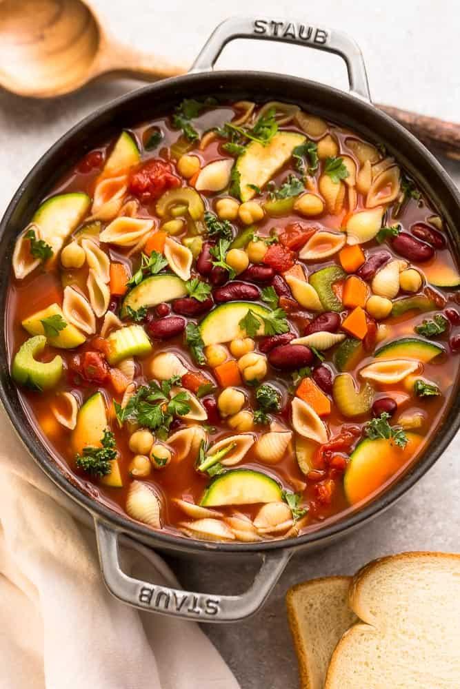 recipe: simple minestrone soup [19]