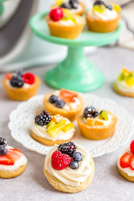 Mini Fruit Pizza