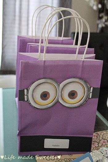Minion Loot Bags