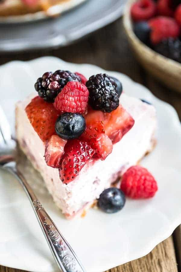 Mixed Berry Cheesecake Low Carb Amp Keto Life Made Sweeter