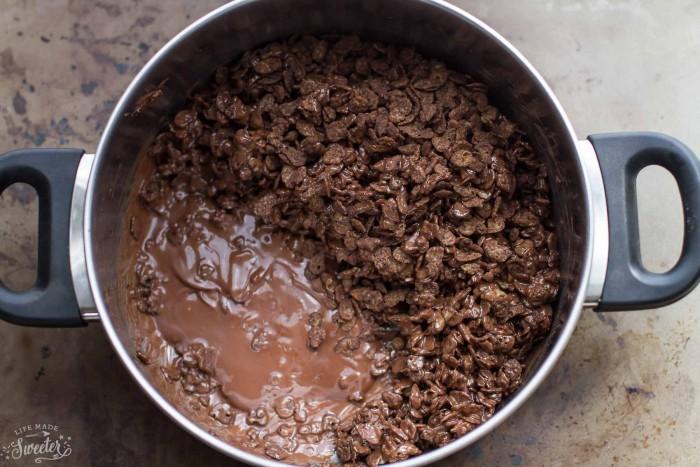 Mocha Coffee Crunch Ice Cream Cake