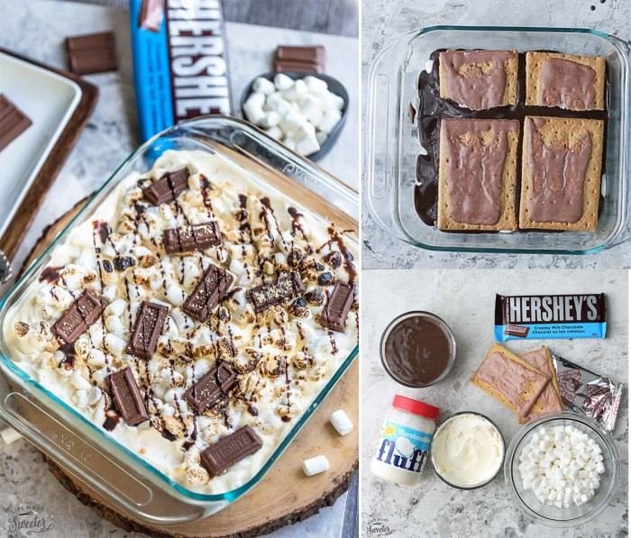 No Bake S'mores Icebox Cake makes the perfect cool treat..