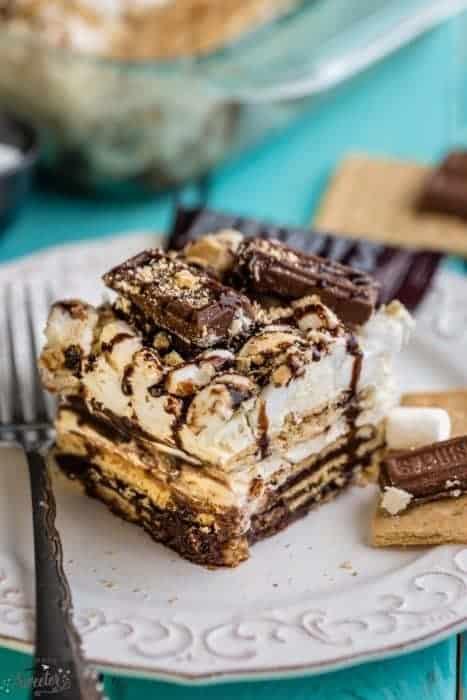 No Bake S'mores Icebox Cake + Recipe Video